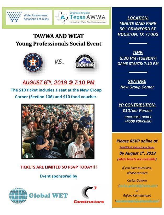 WEAT/AWWA YP Houston Astros Game 2019