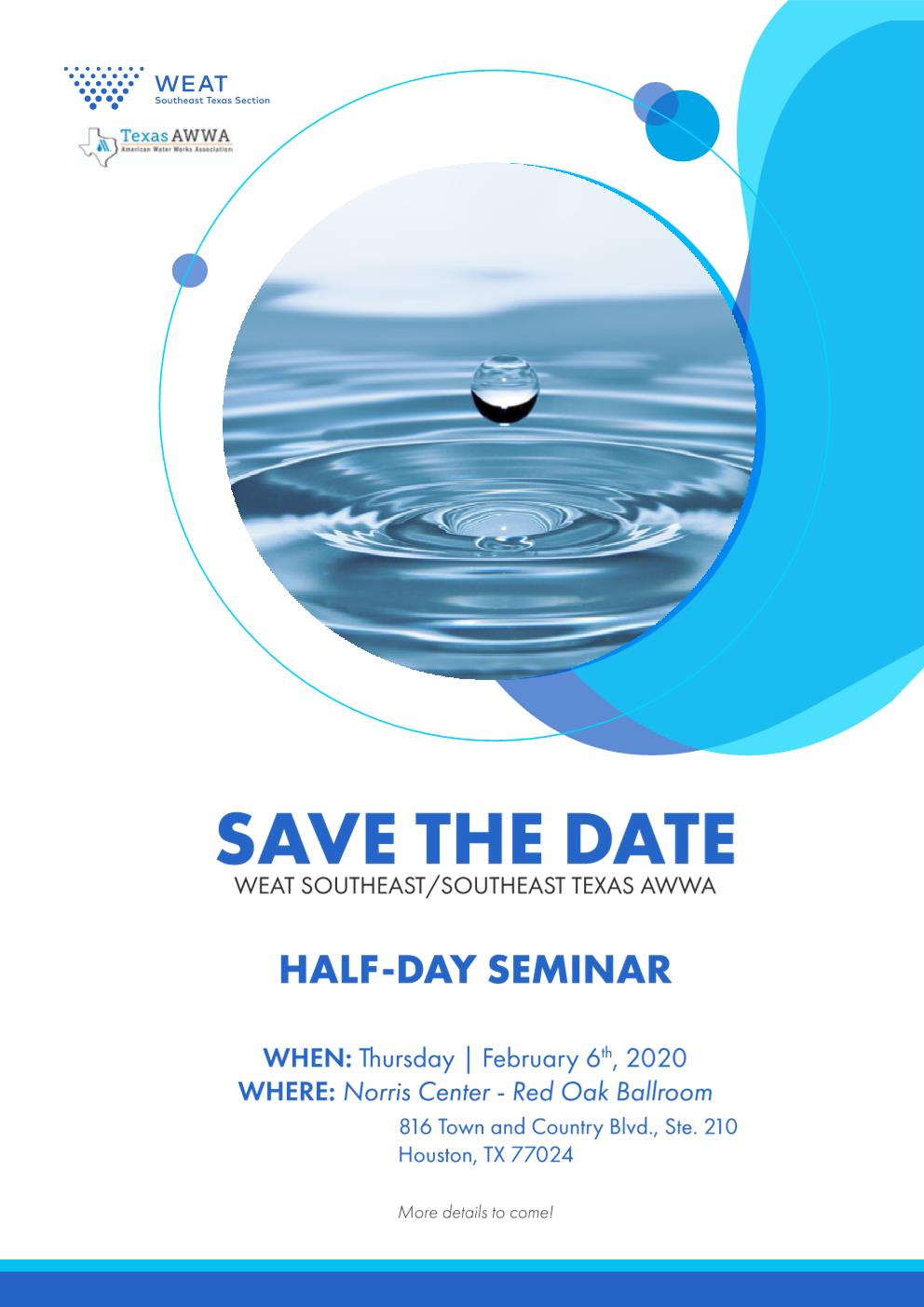WEAT/TAWWA Half-Day Seminar